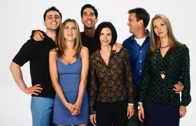 *Friends* will be the residing TV memory for many '90s kids.