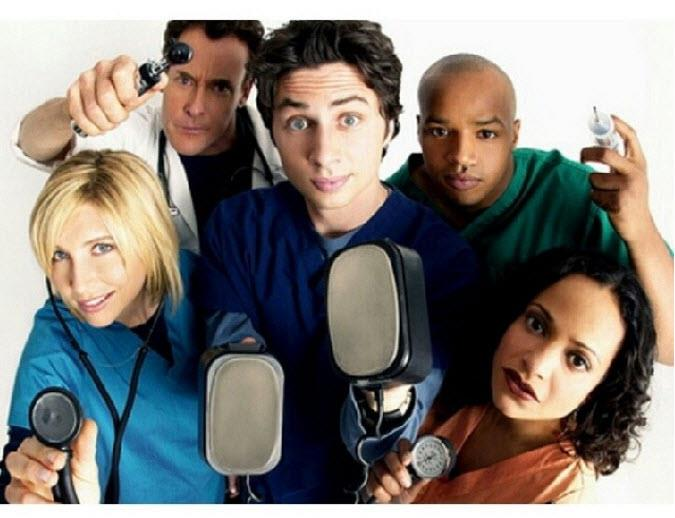 Scrubs is still one of our all-time favourites.