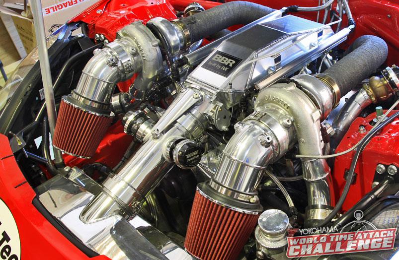 TWIN TURBO V8 NISSAN 350Z