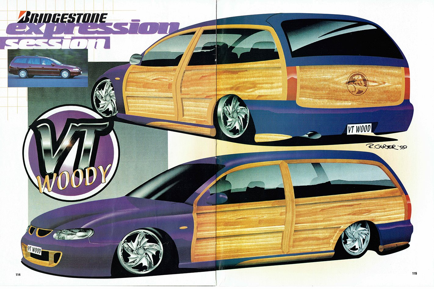 Video Woody Wagon Makeover