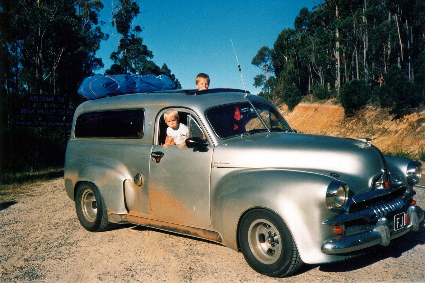 2015 Toyota Camry For Sale >> THE VAN THAT TIME FORGOT: NEIL DIECKMANN'S WILD FJ HOLDEN