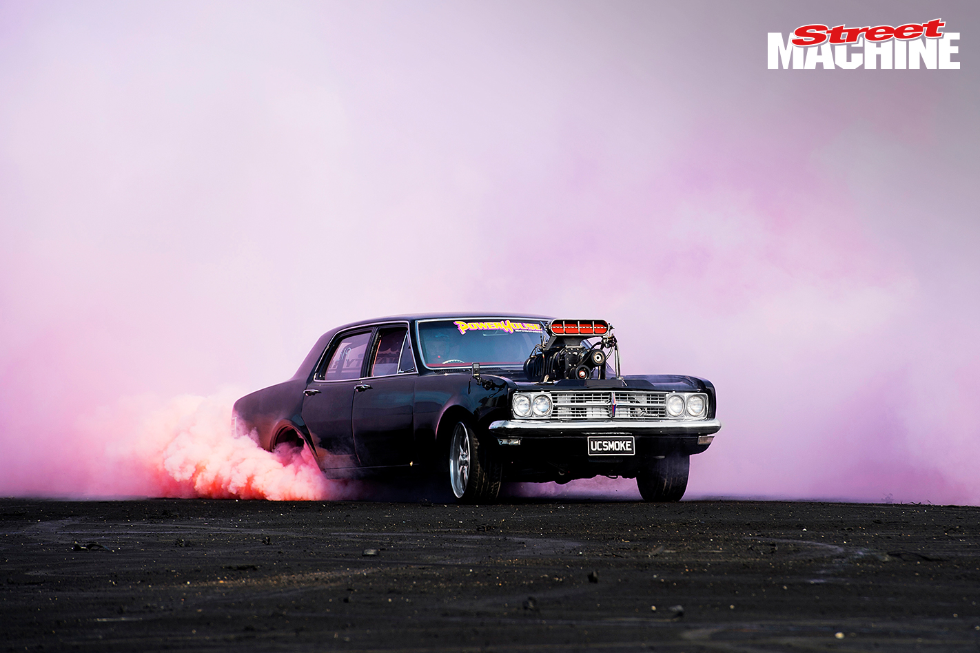How To Make Coloured Burnout Tyres Smoke