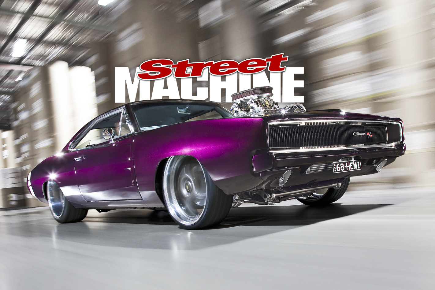 1000hp Blown 68 Charger Streeter