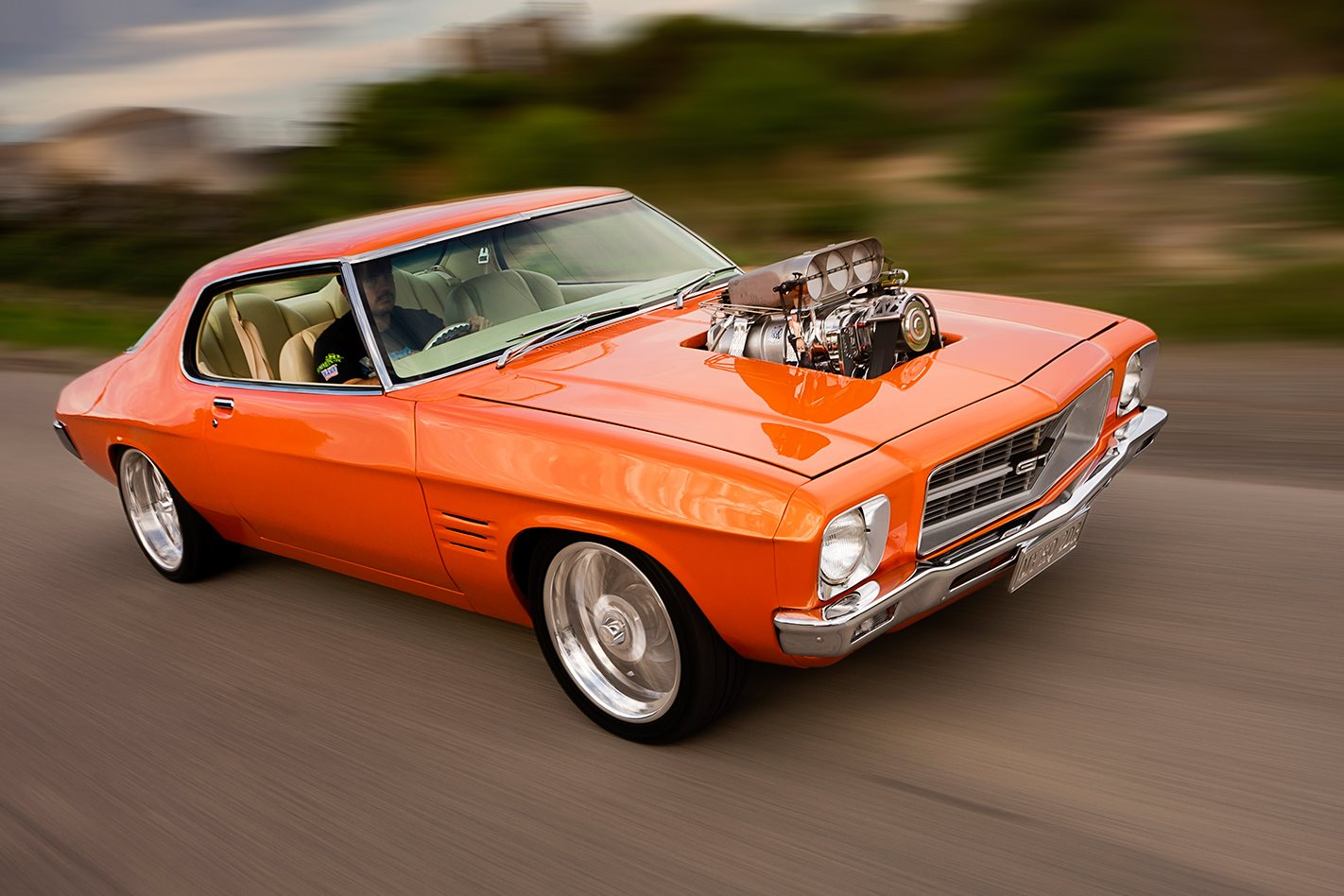 SUPERCHARGED 1972 HOLDEN HQ MONARO COUPE | Street Machine