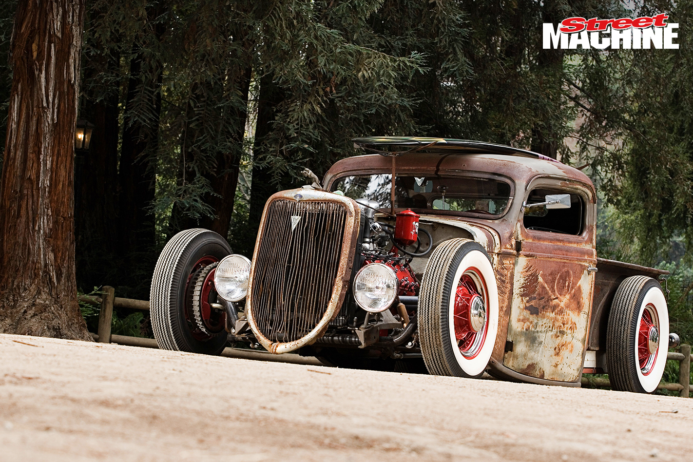 Zz Top S Billy Gibbons 36 Ford Rat Rod