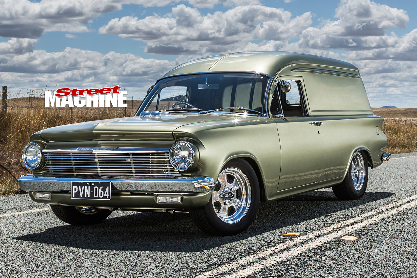 1964 holden eh panel van packing an l34