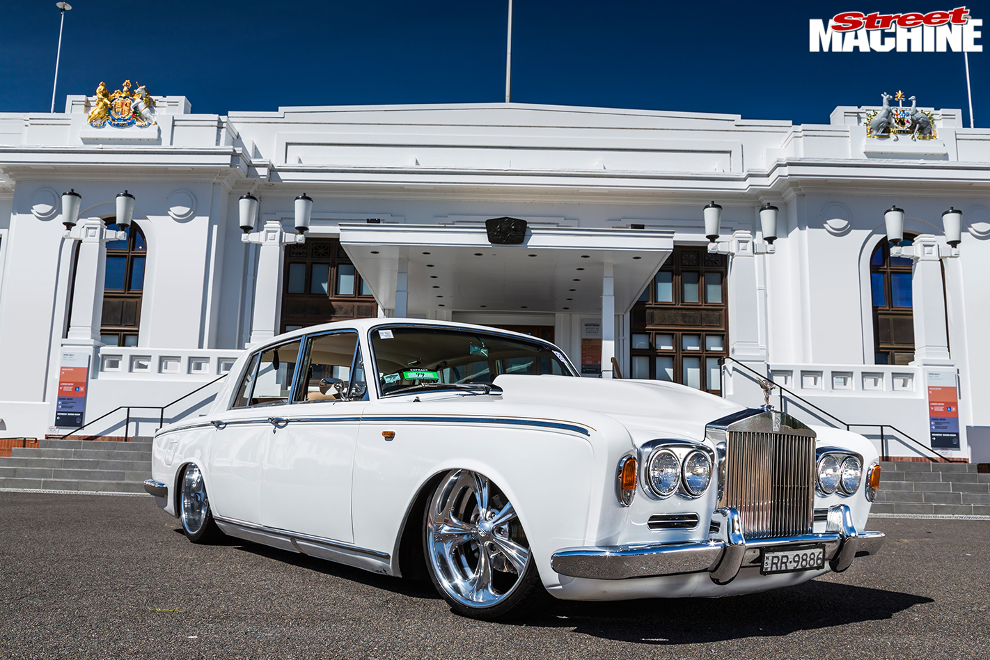 Rolls Royce Silver Shadow Racing Car