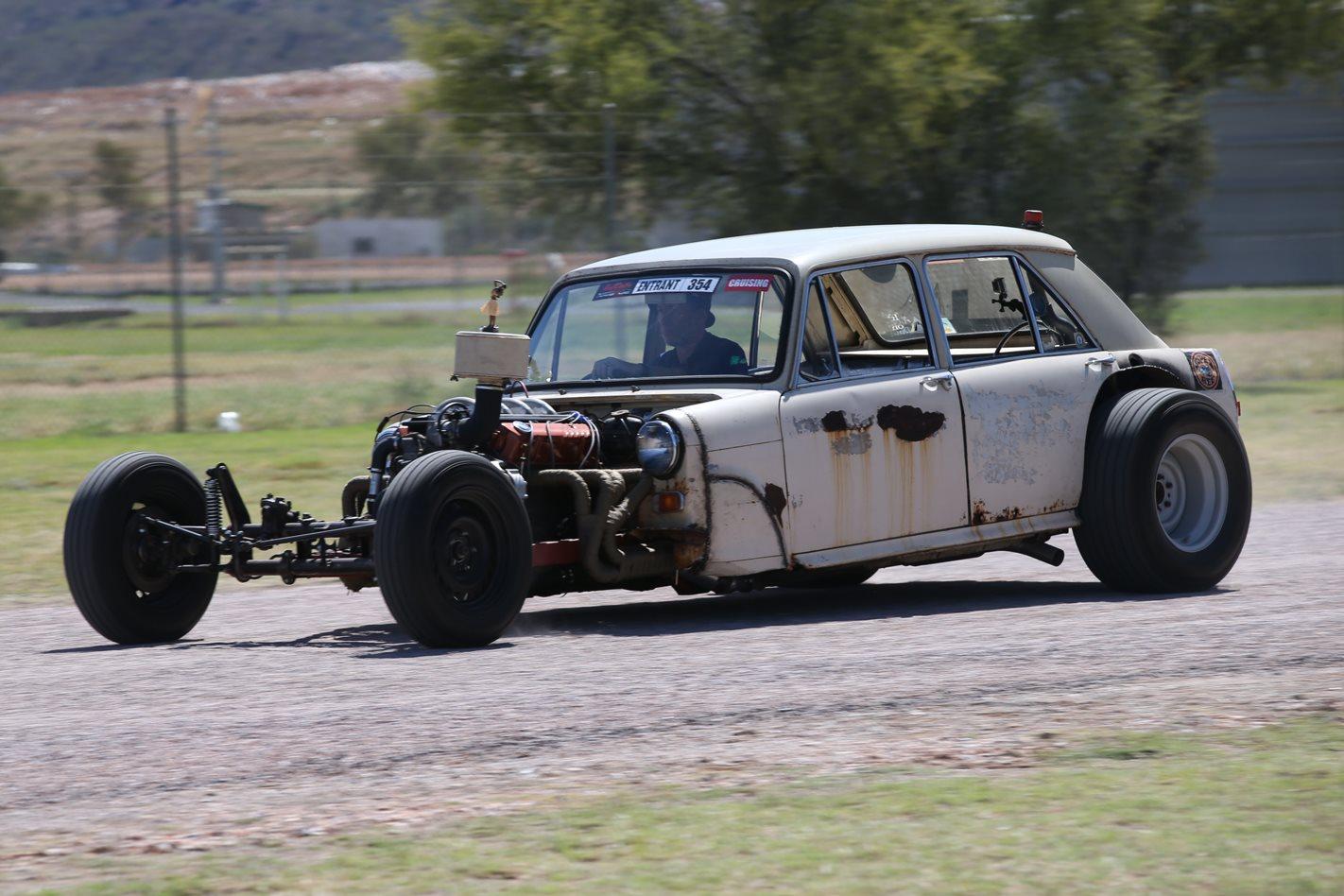 The Crazy Test Race Car