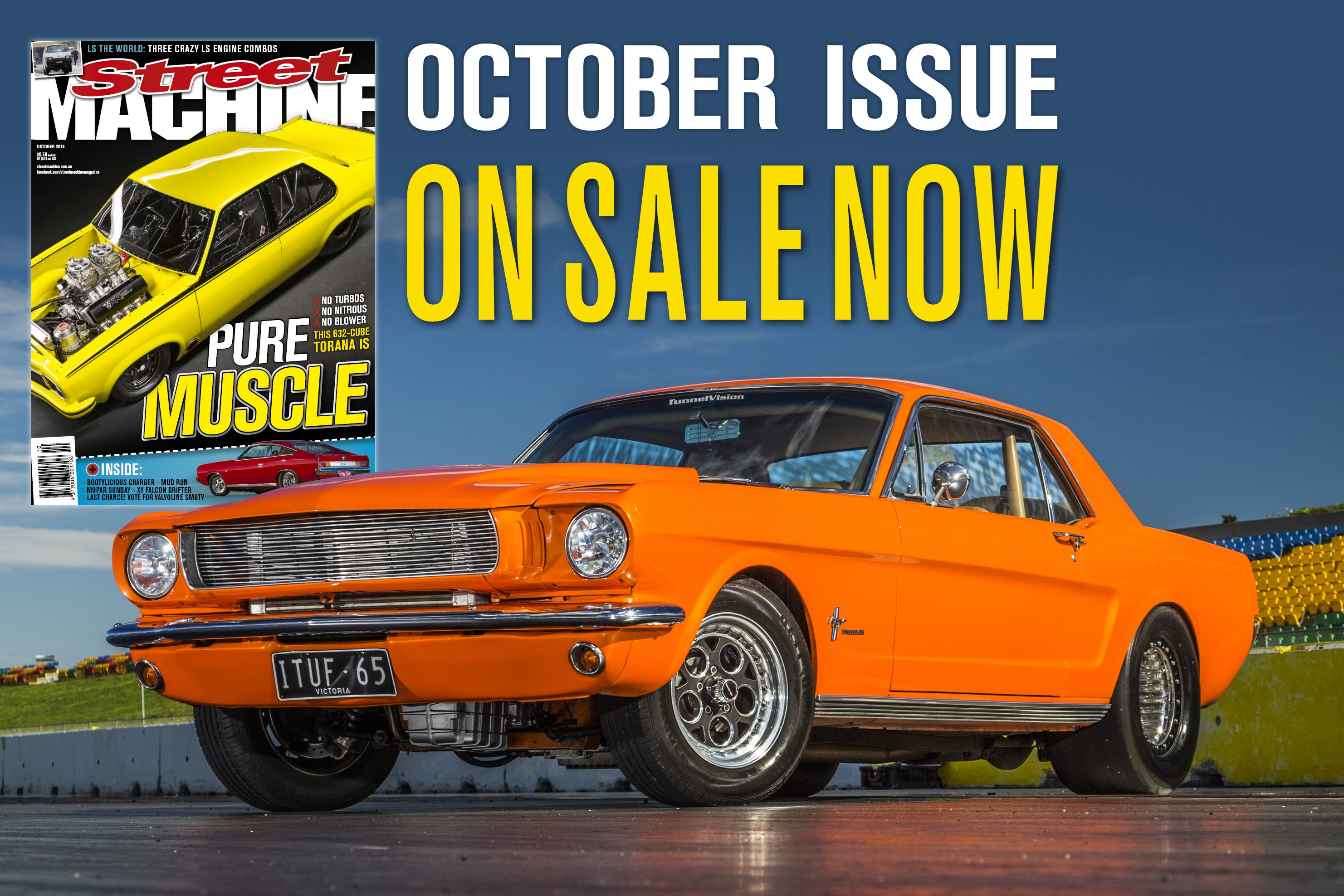 STREET MACHINE OCTOBER 2016