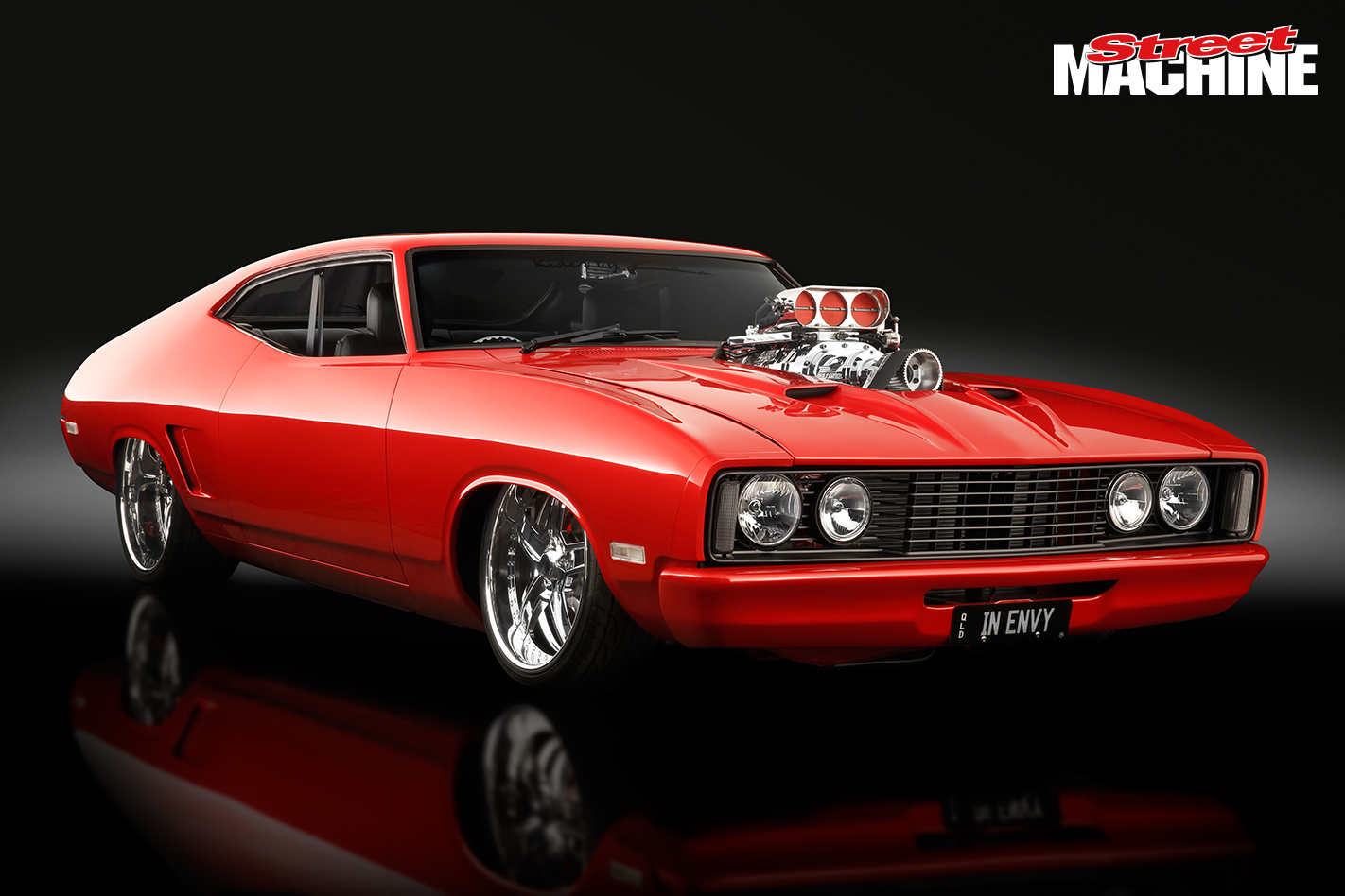 Blown 351 Powered Ford Xc Falcon Coupe Inenvy