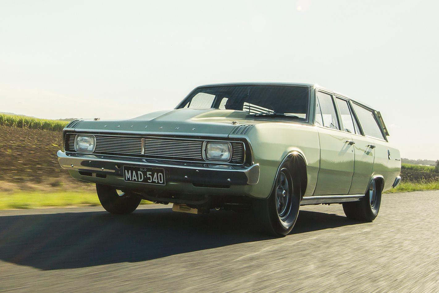 540-CUBE BIG-BLOCK 1970 CHRYSLER VG VALIANT WAGON