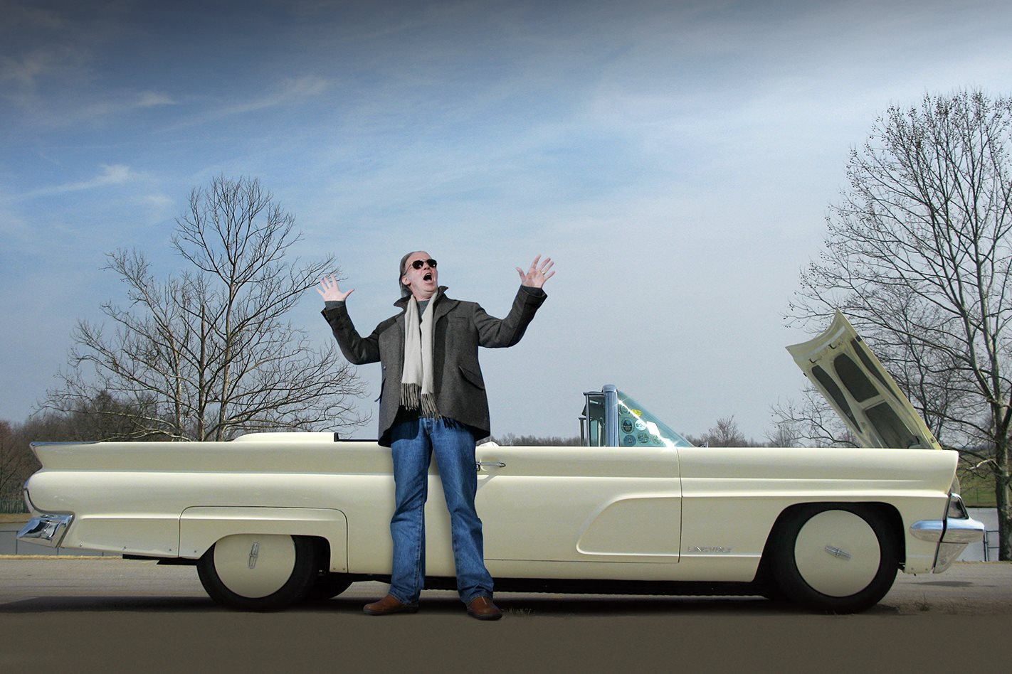 NEIL YOUNG'S ELECTRIC 1959 LINCOLN CONTINENTAL - LINCVOLT