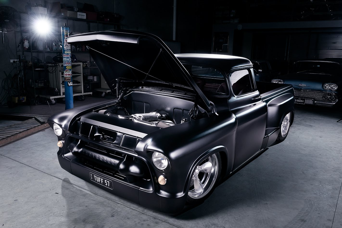 Blown 1957 Chevrolet Pick Up Chevy Stepside Pickup Truck