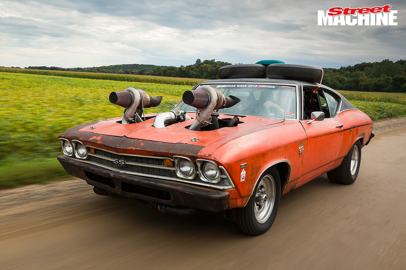 2016 Chevelle Ss >> The Story Of The Aussie Chevelle That Conquered Drag Week 2016 Video