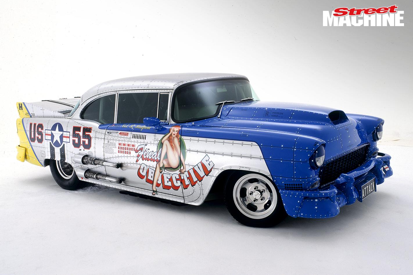 Rod Hadfield 55 Chev