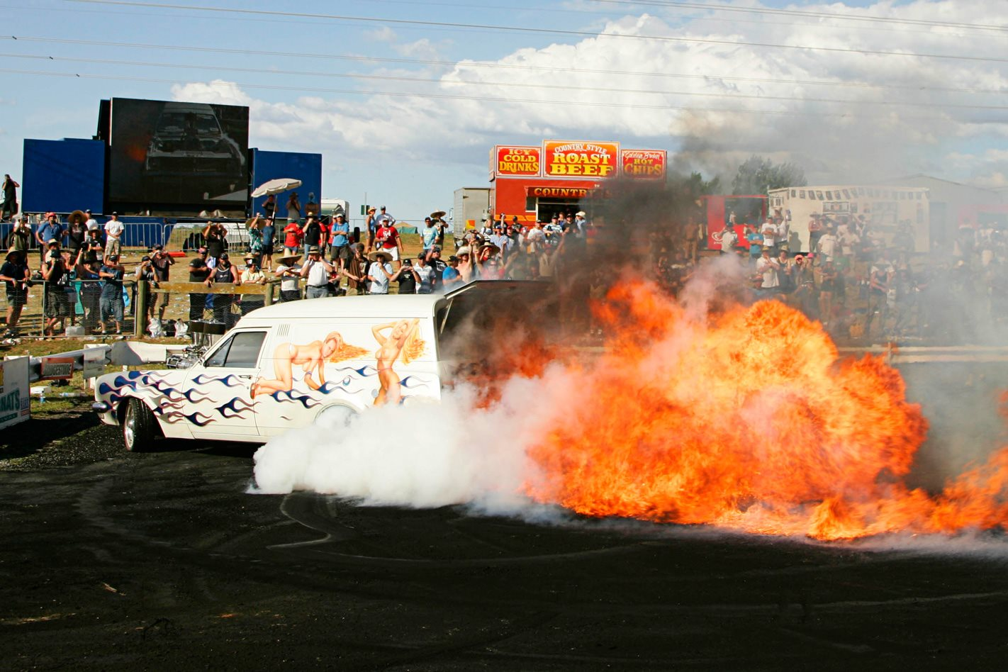 VANTASY Burnout fire