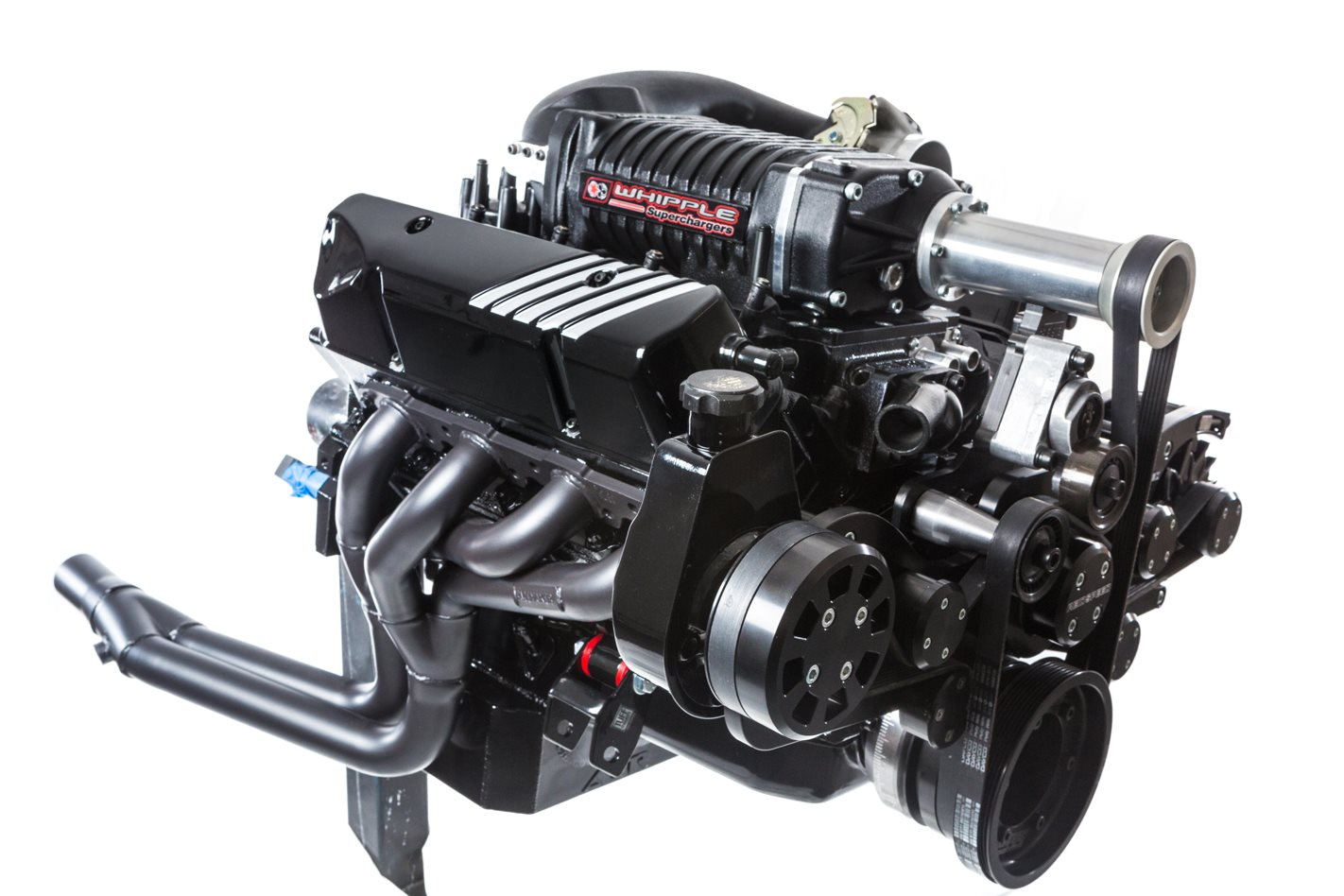 WHIPPLE SUPERCHARGED HOLDEN 355 AT POWERHOUSE ENGINES - VIDEO