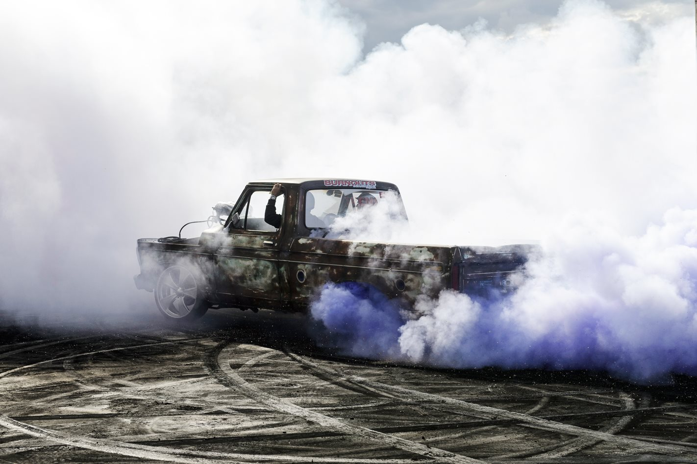 Ford F100 blown burnout FDIS