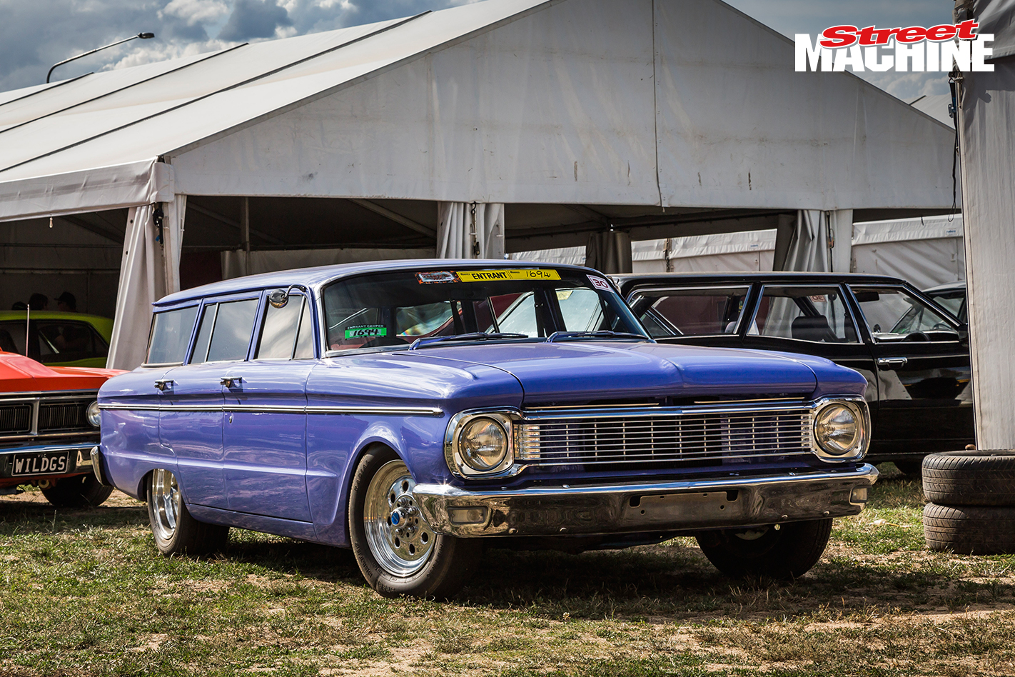 Ford Falcon wagon chopped