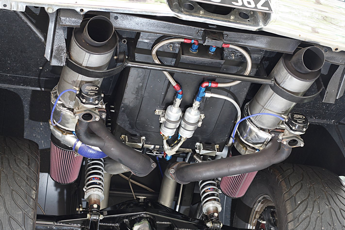 How To Install A Rear Mounted Turbo Set Up