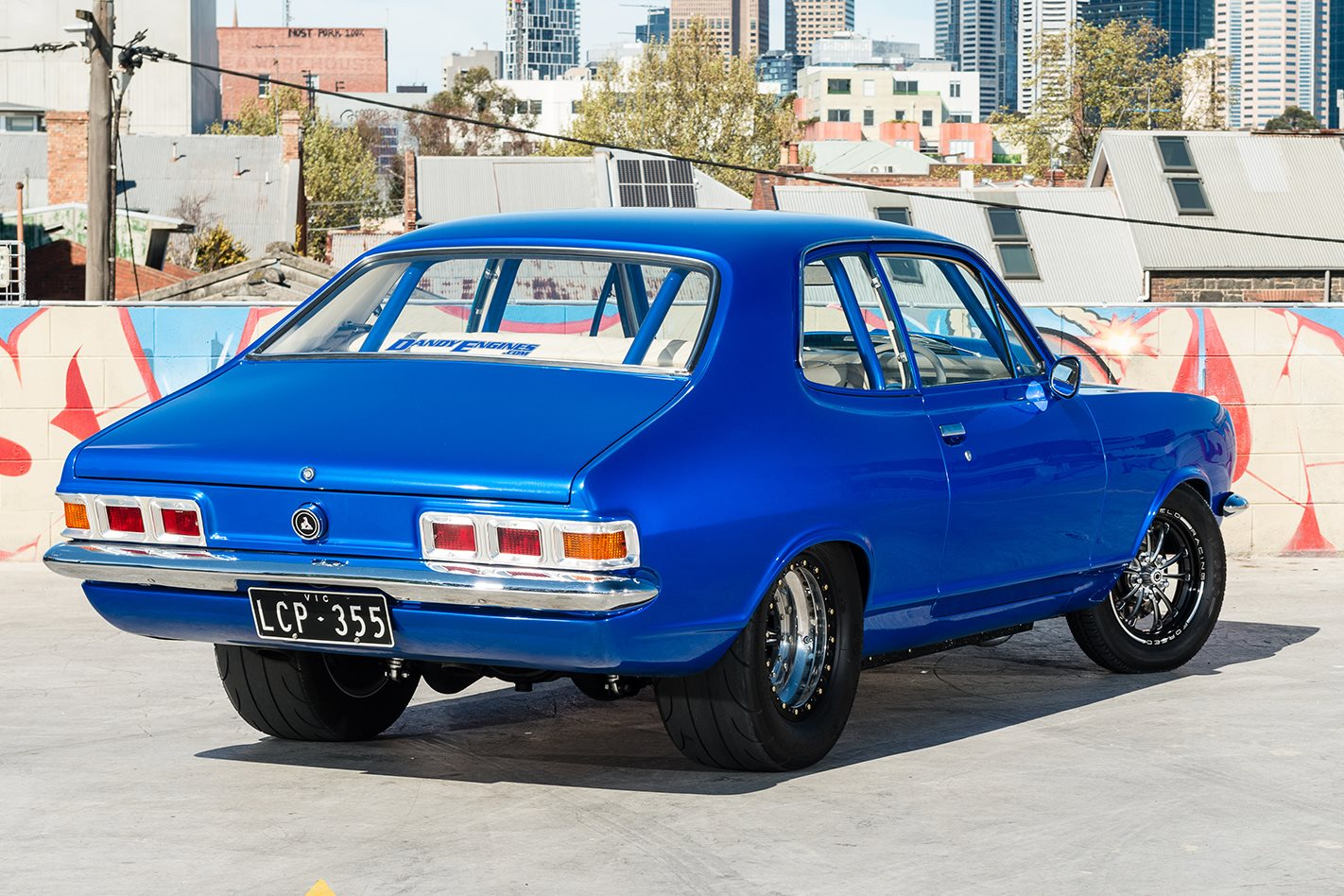 Holden LJ Torana rear