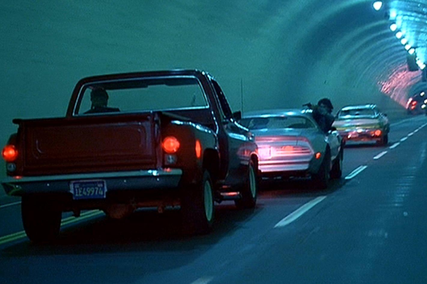 The Driver tunnel scene