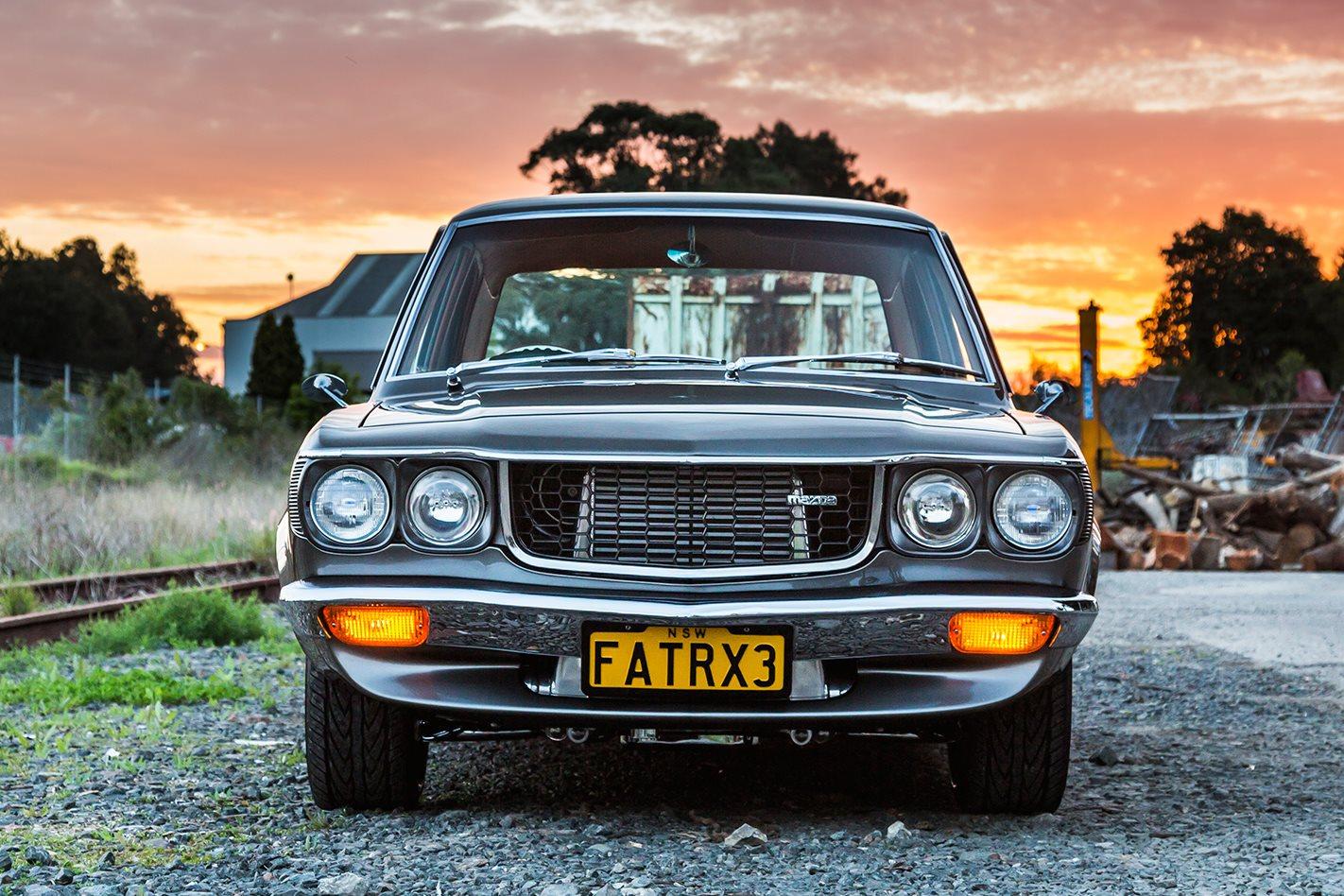 tubbed, turbocharged 13b rotary 1972 mazda rx-3 - fatrx3 | street