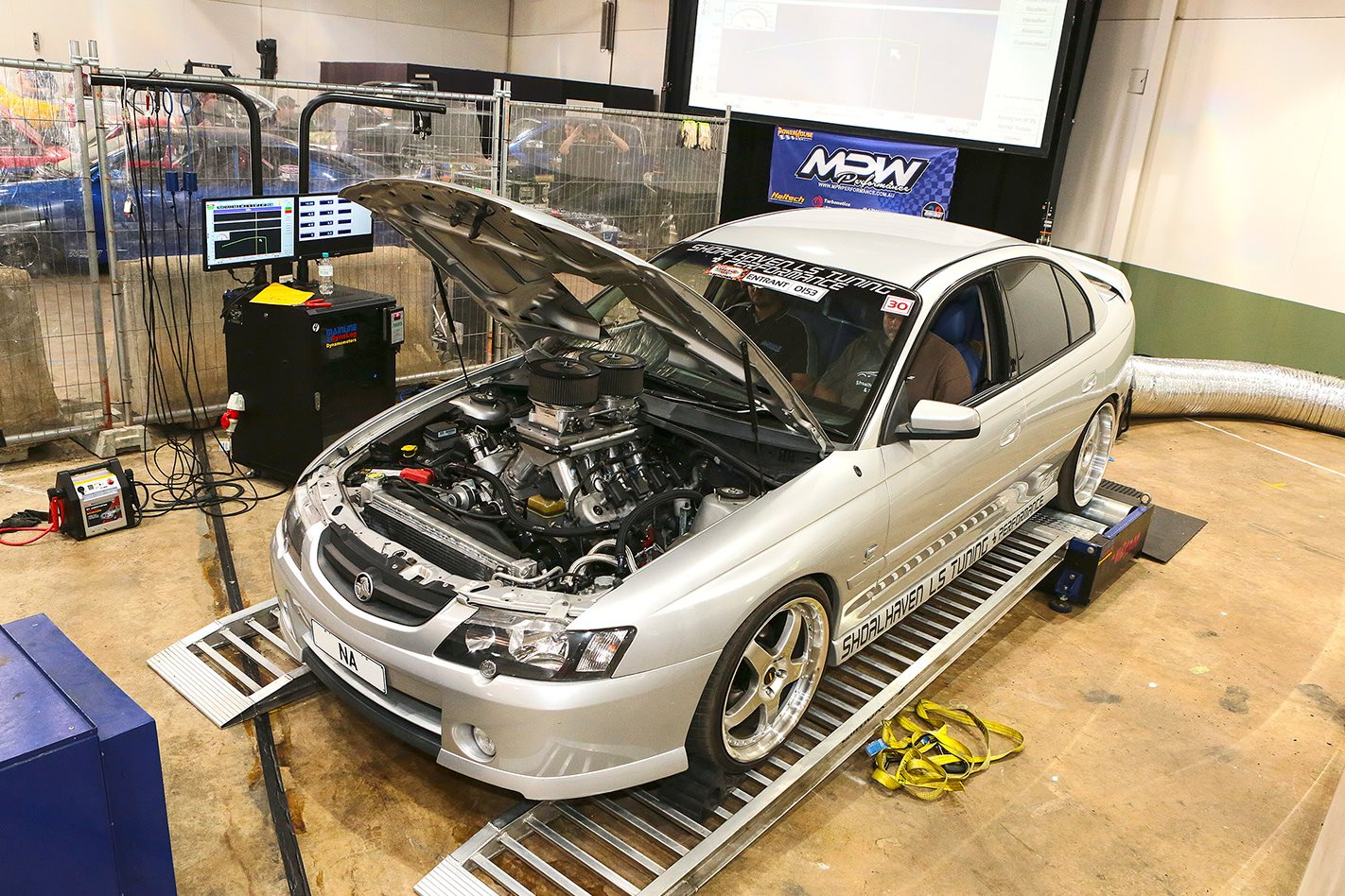 Bobby Brown VY SS Commodore