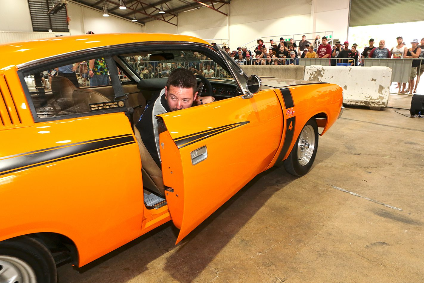 Chrysler VH Charger on dyno