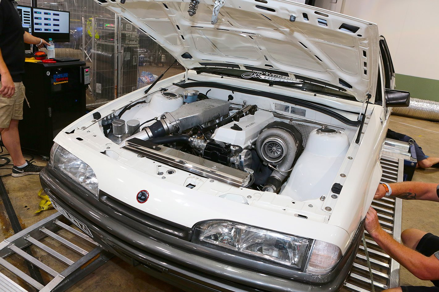 Holden VL Commodore on dyno