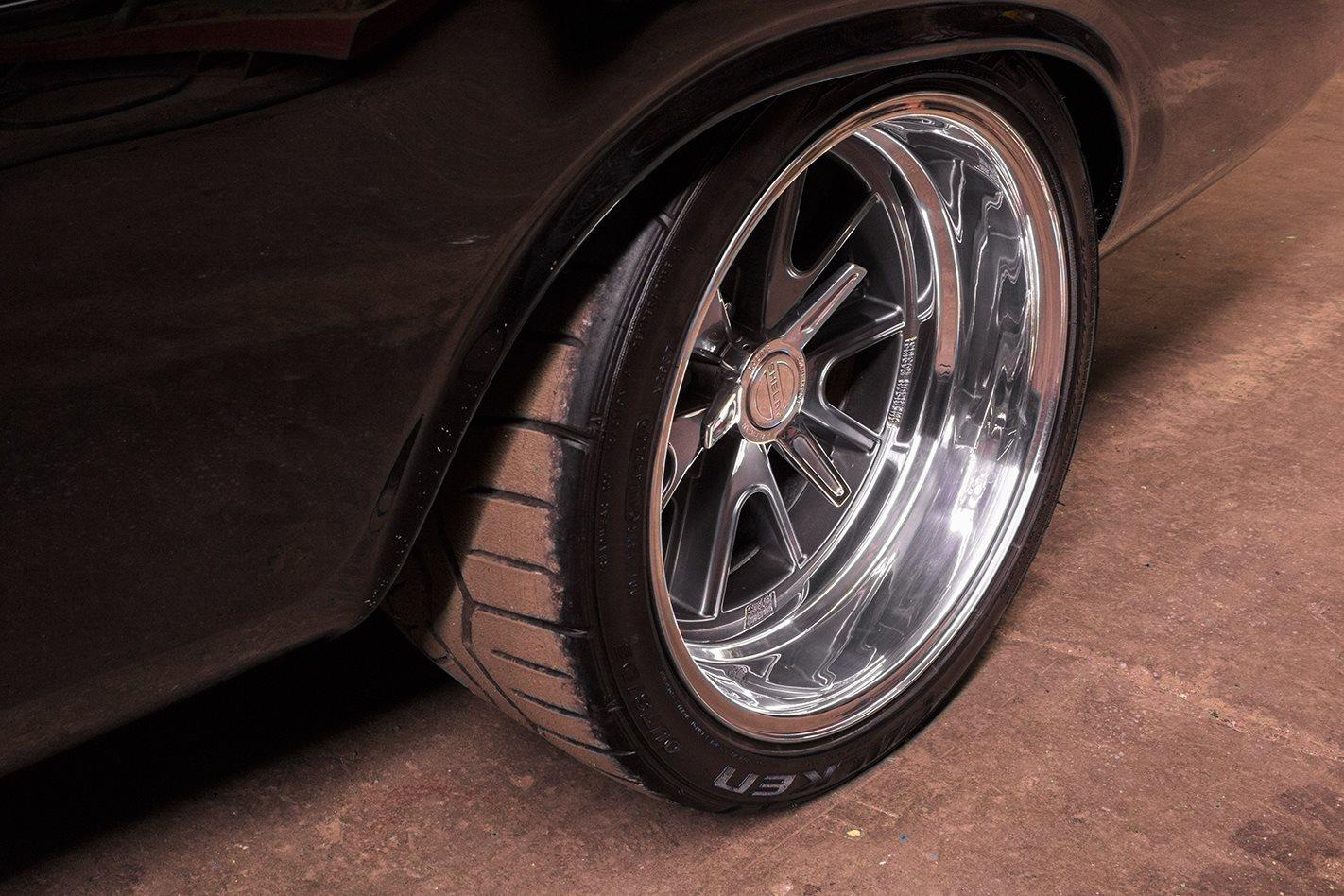 Dodge Challenger wheel