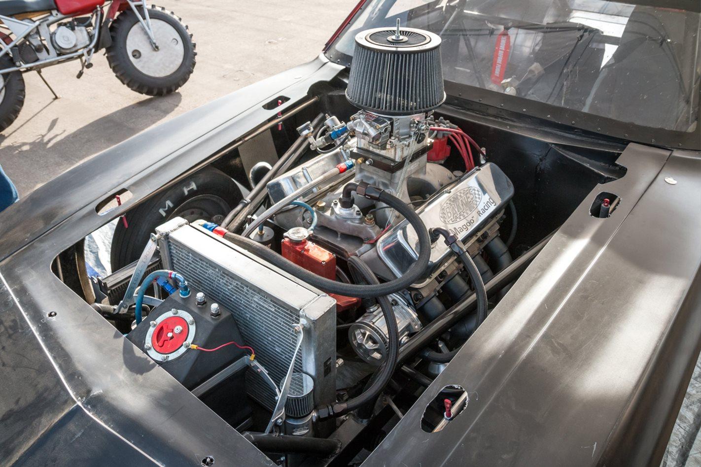 Dave Mallory Camaro engine