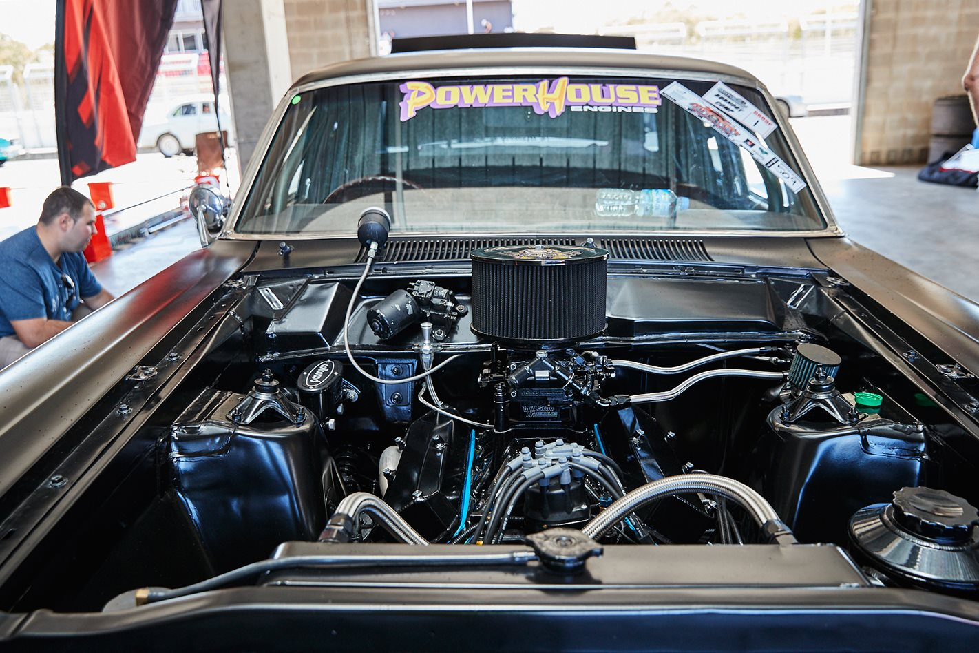 ZC Fairlane engine