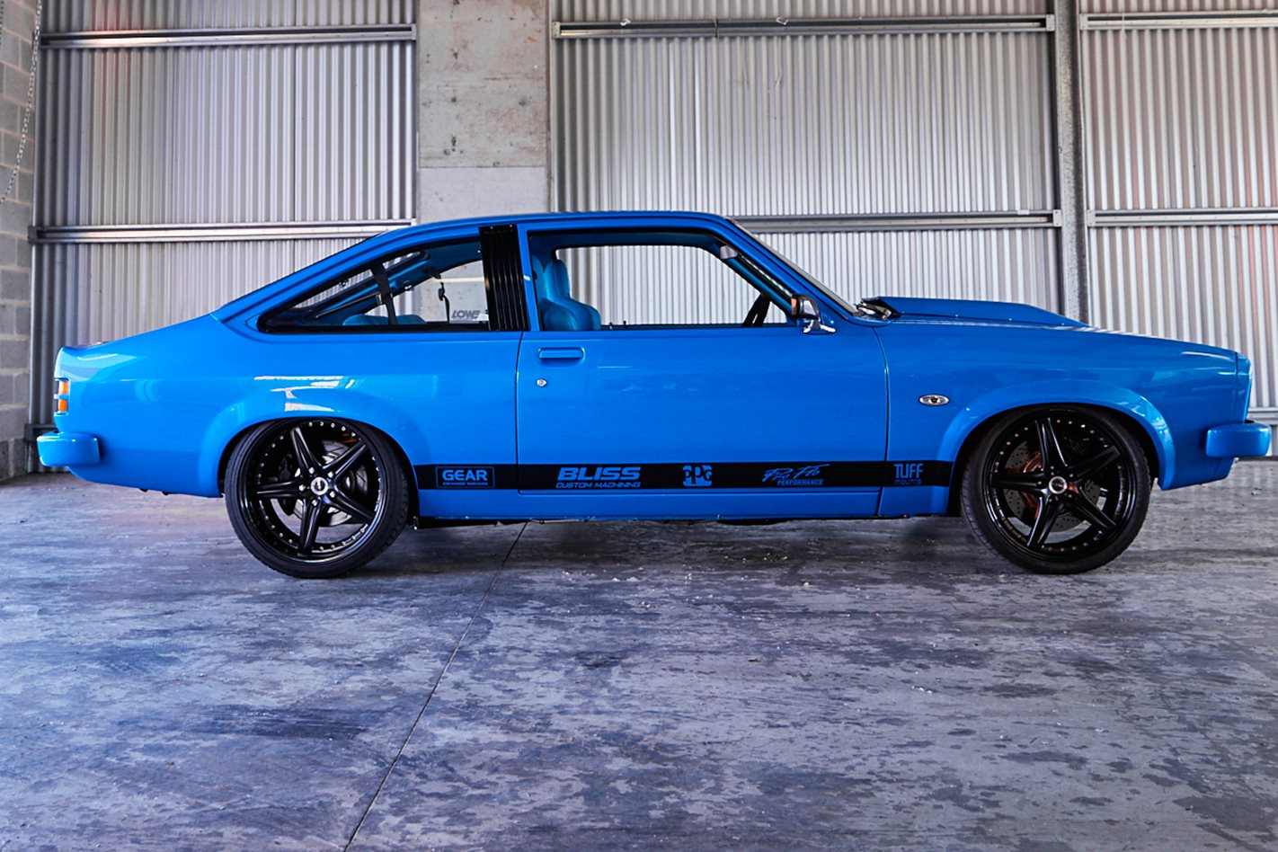 Spinks Torana side view
