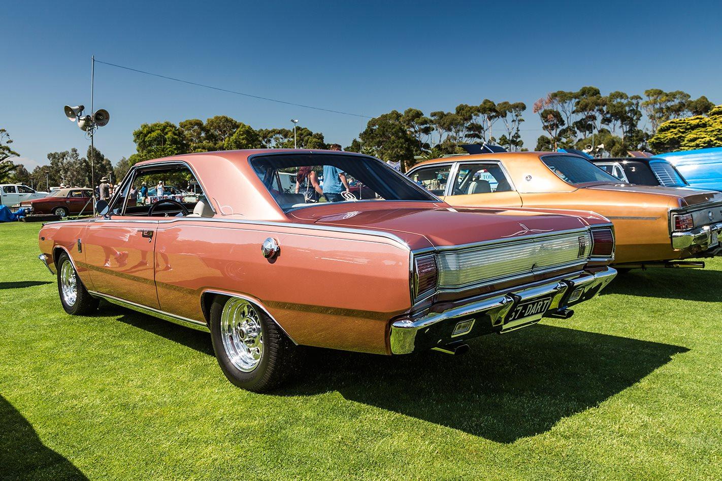 Dodge Dart rear