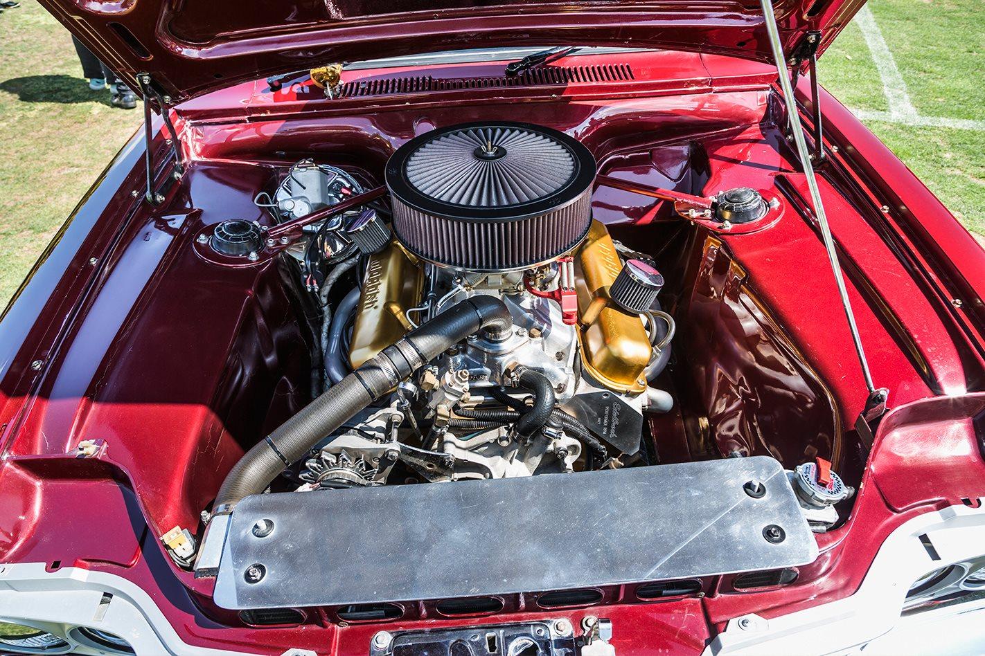 Chrysler engine bay