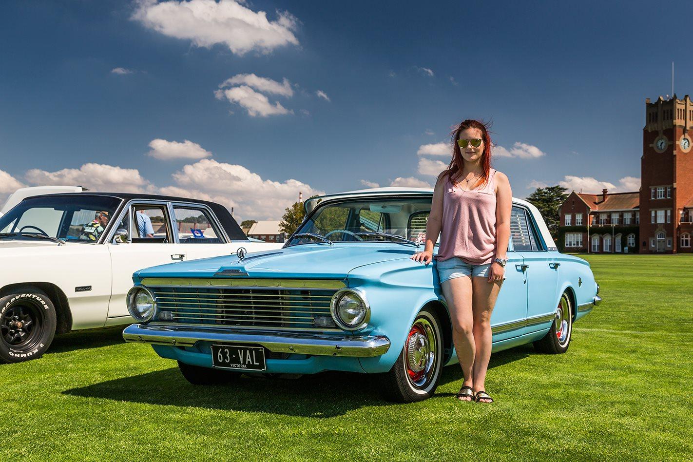 Holly Giddings's Chrysler Valiant