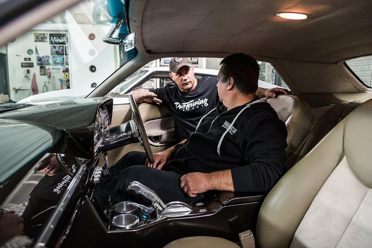 King Kong Cuda driver's seat