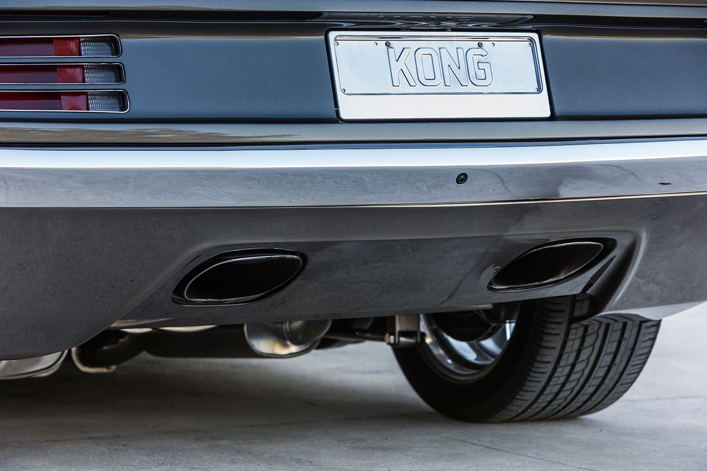 King Kong Cuda exhaust