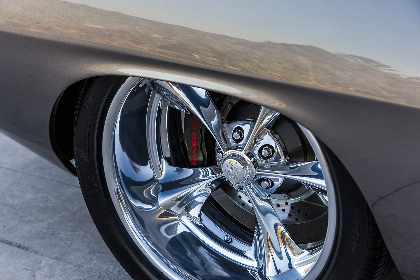 King Kong Cuda wheel