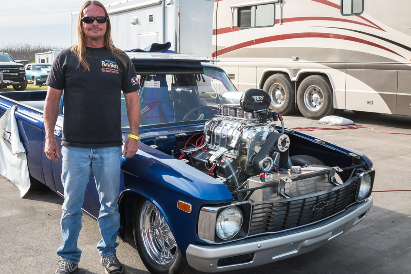Scott Bisel and his 1972 Chevy Luv