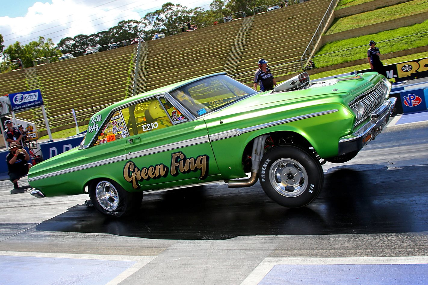 Green Fing Plymouth Fury