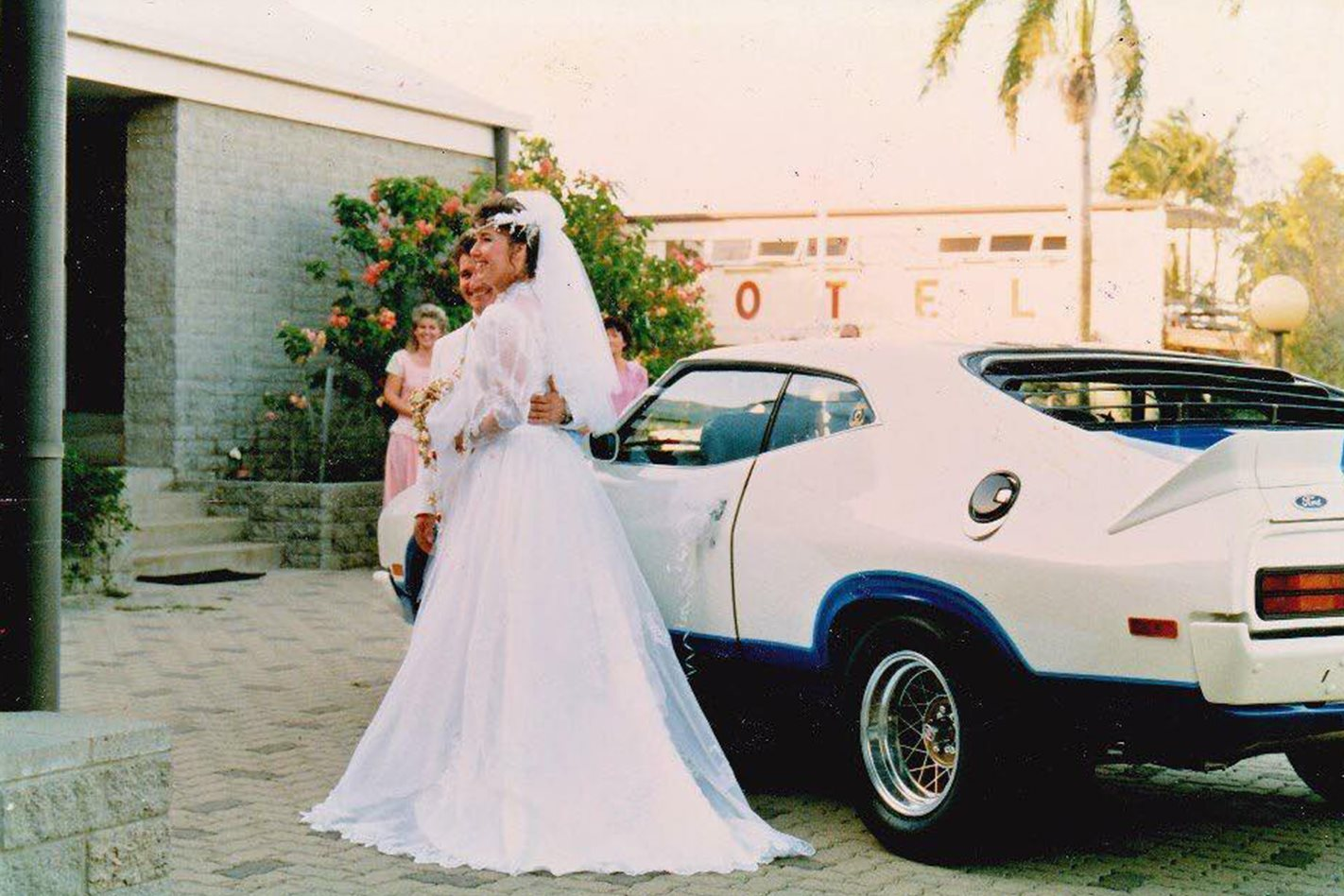 Mandy Paton's wedding cars