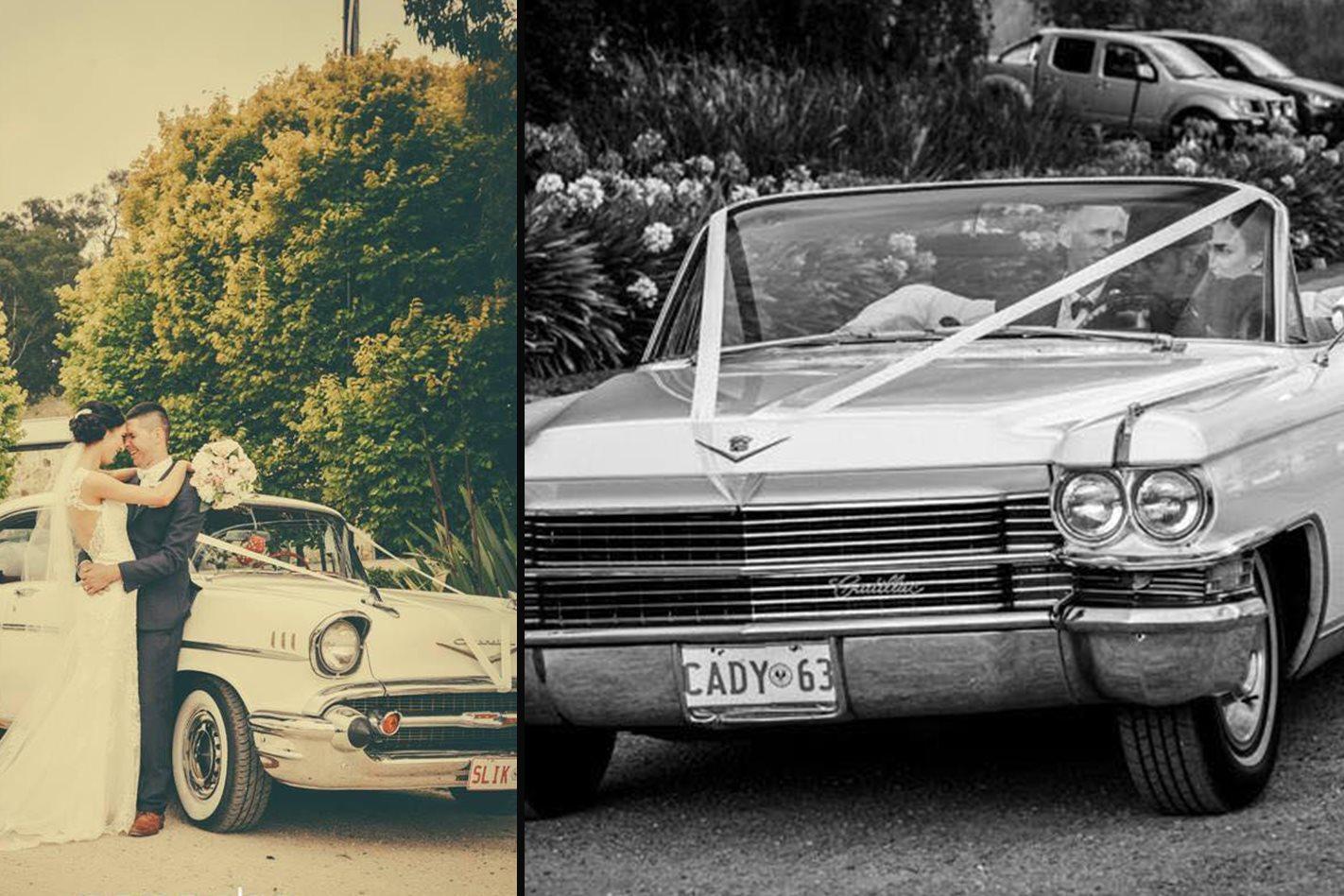Adam Redel's wedding cars