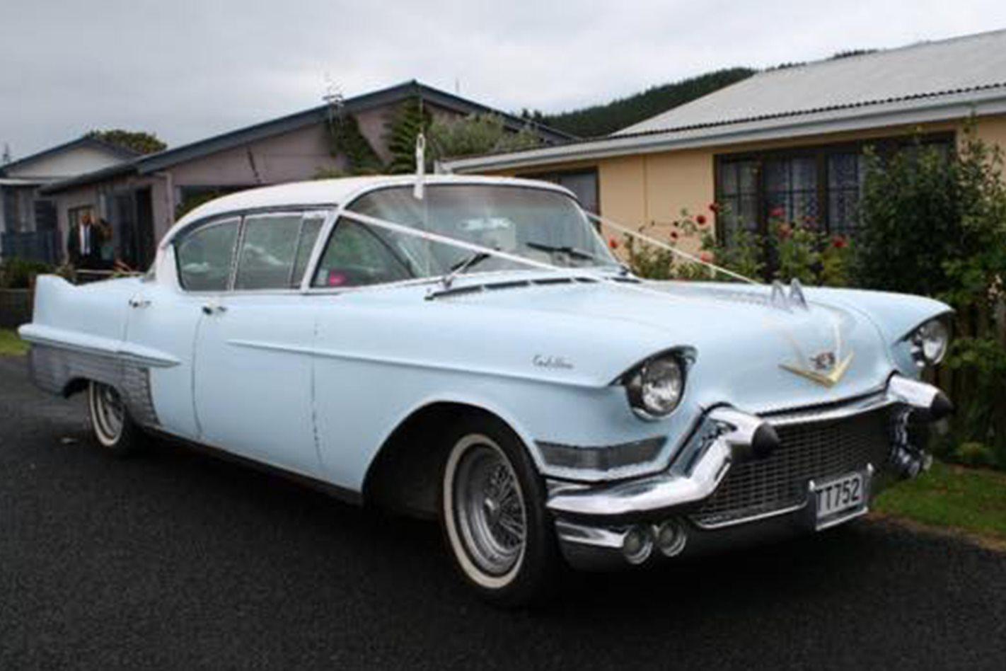 Paul Howell Cadillac wedding car