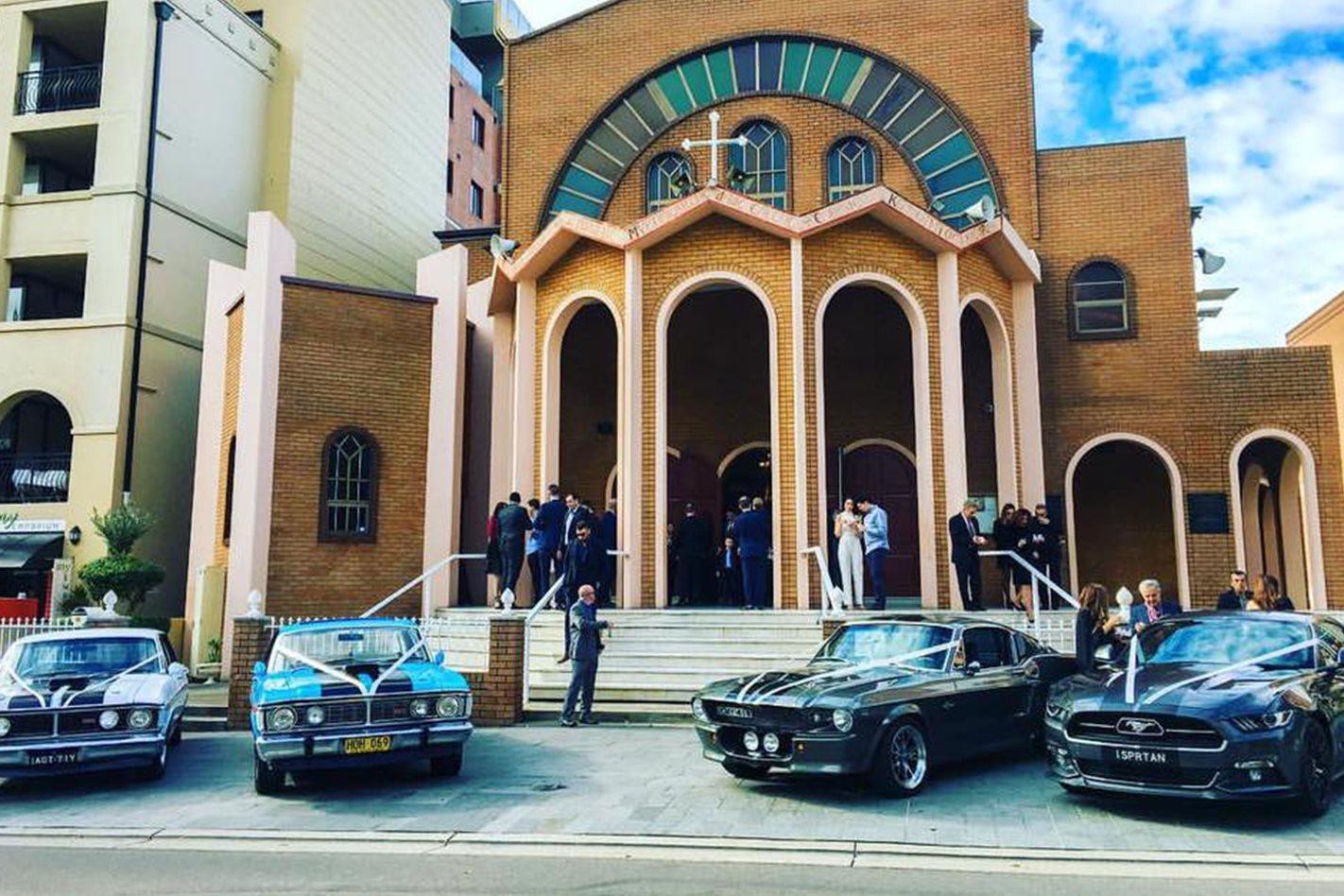 Peter Vahaviolos's wedding cars