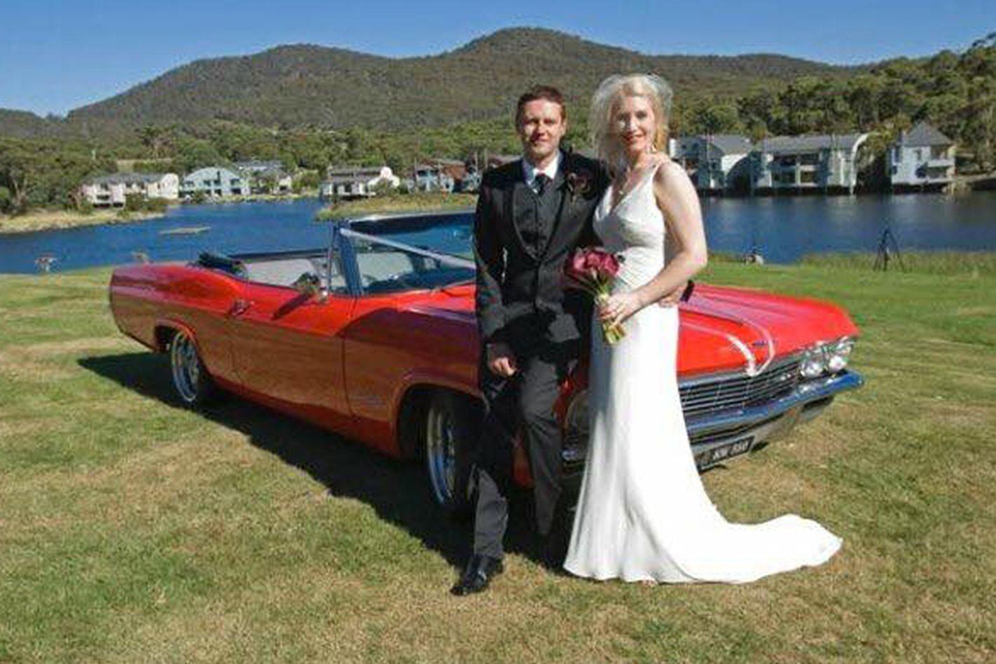Scott Wright's Impala wedding car