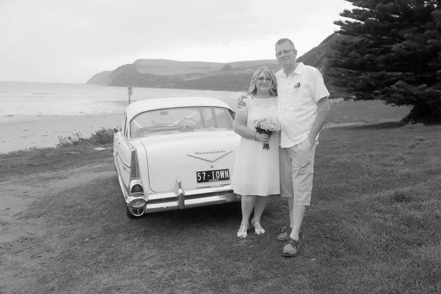 Alister Sharrock wedding car
