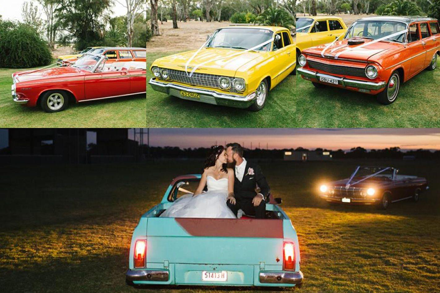 John Haig wedding cars
