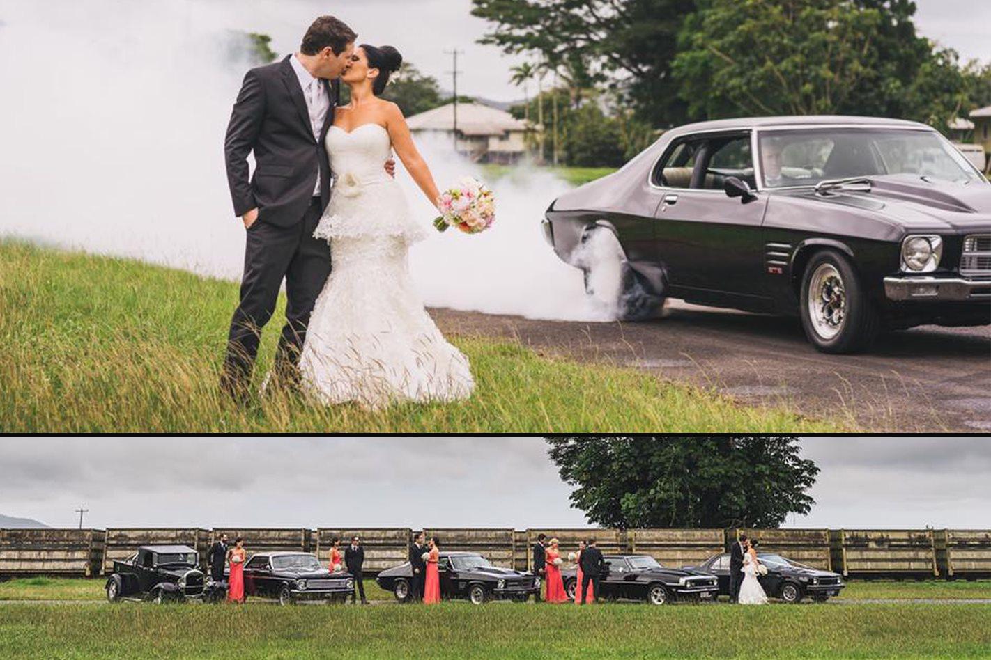 Brad Hanrahan's wedding cars